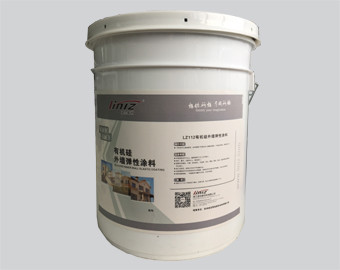 Wall Organic Silicone Elastomeric Coating  Excellent Corrosion Resistance