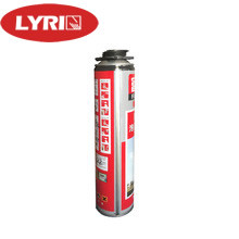 Expanding Polyurethane Insulation Spray , Structural Spray Foam For Seal Gaps 750 Ml